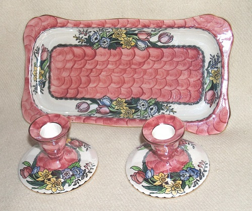 Dressing Table set Springtime pink