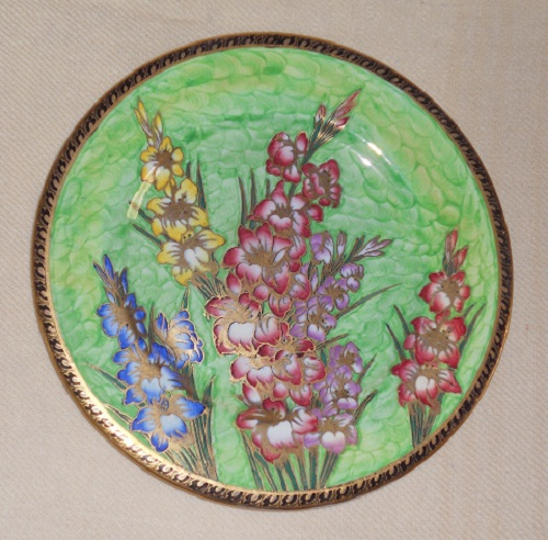 Plaque Gladioli green